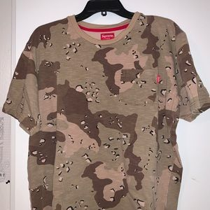 Coco camo supreme shirt